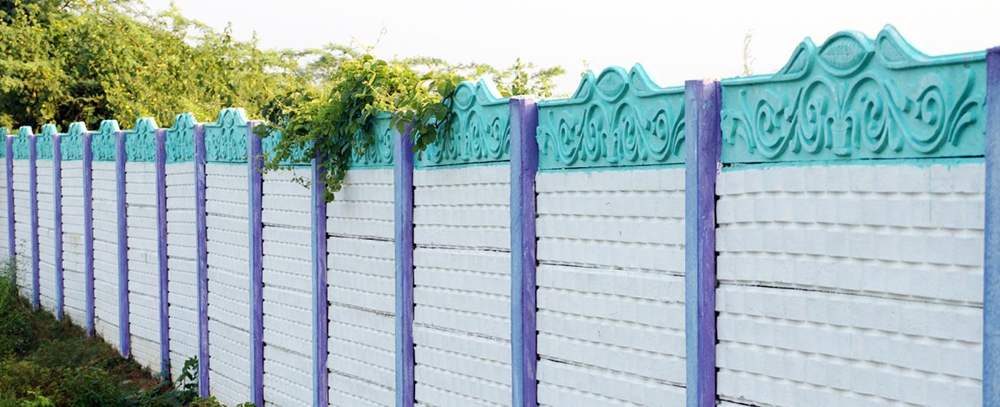 Designed Compound walls